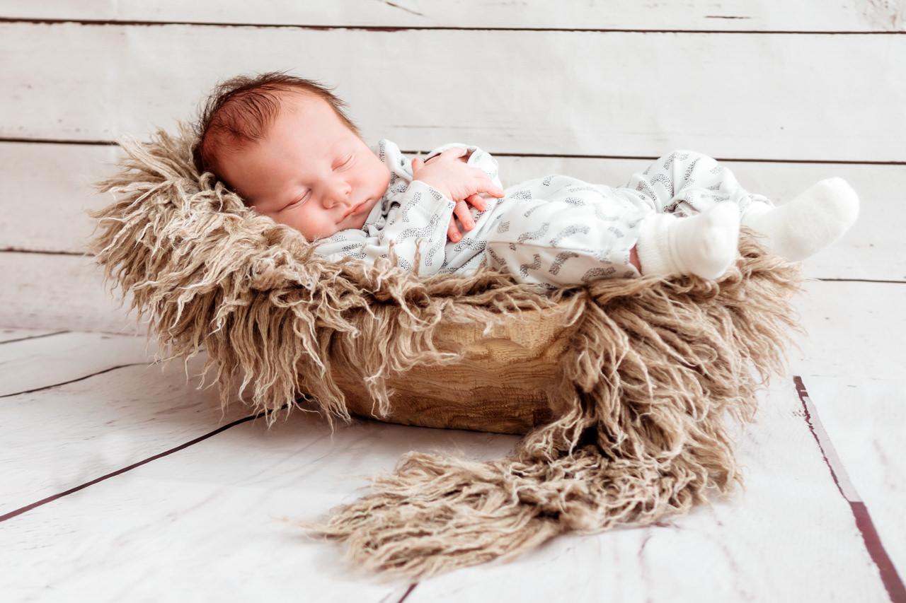 Babyfotos Dresden Baby schläft