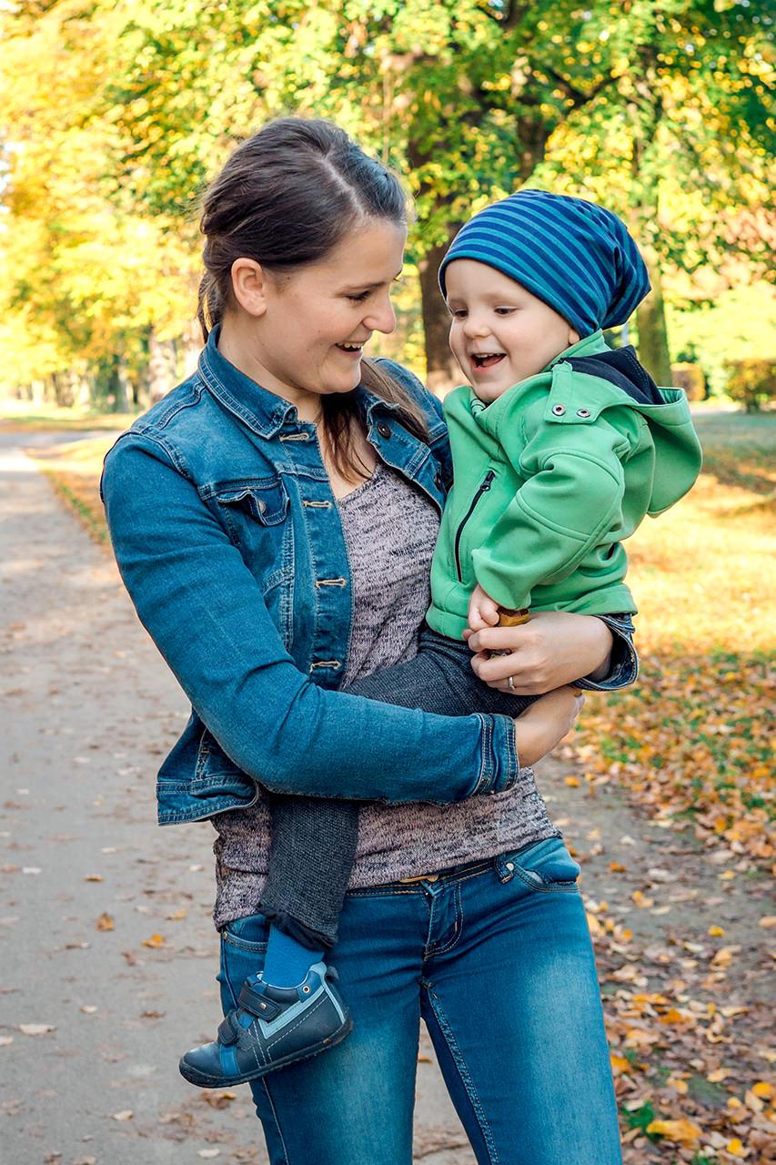 Mutter und Sohn Familienfotos Dresden