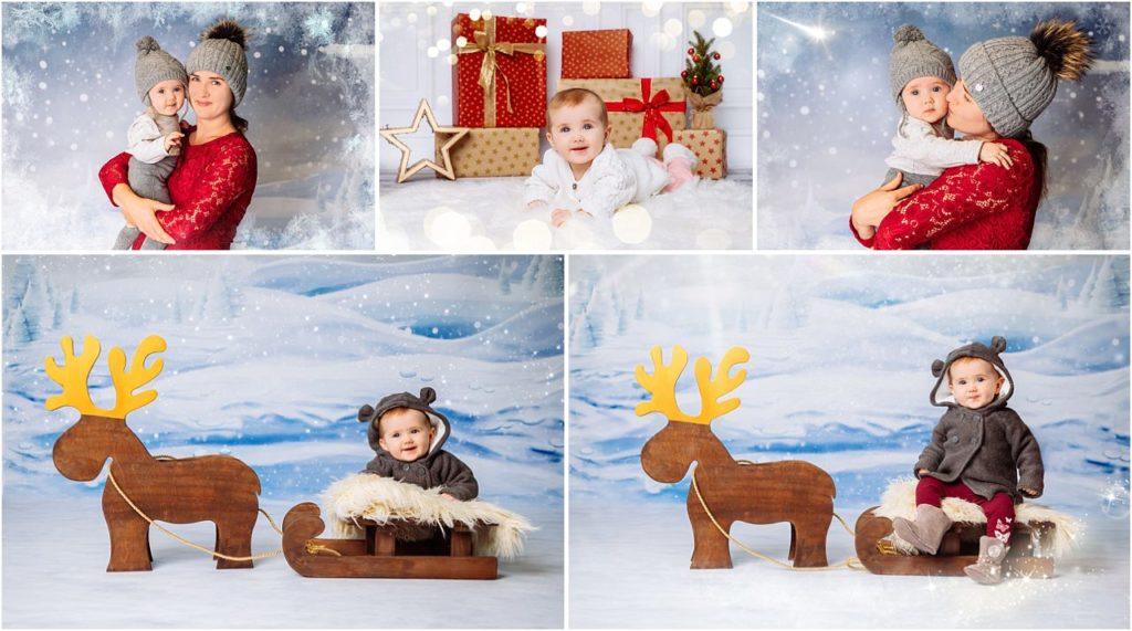 Familienfotos und Kinderfotos Weihnachtsbilder vom Fotograf Dresden