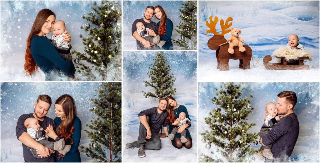 Familienfotos Weihnachtsbilder vom Fotograf Dresden