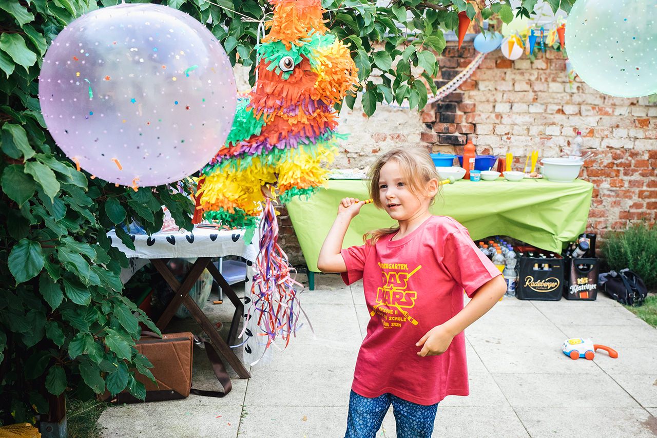 Schuleinführung Kinderparty in Dresden Familienfotograf